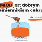 Czy miód jest dobrym zamiennikiem cukru dla insulinoopornych, dietetyk Aleksandra Laskowska