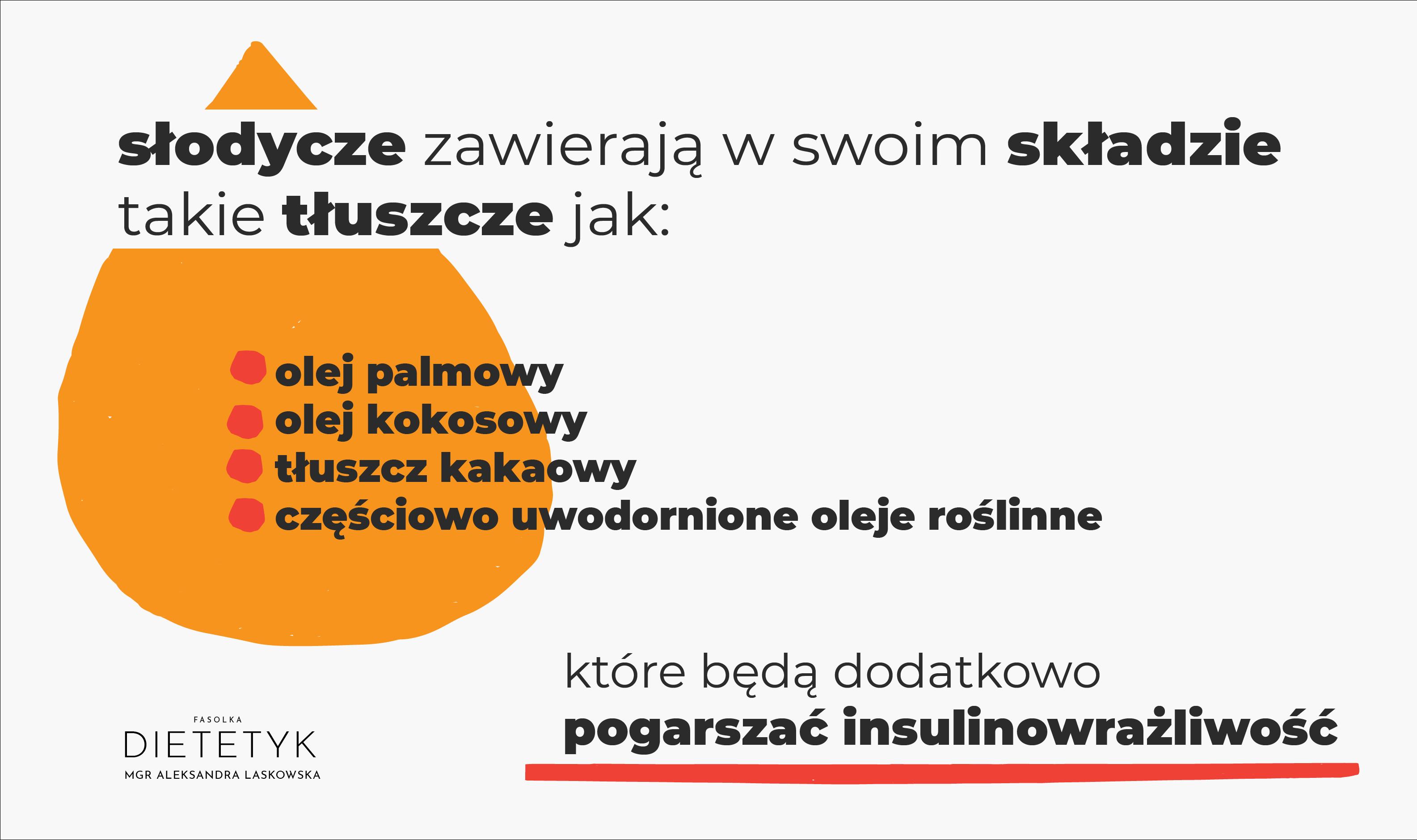 jakie tłuszcze w słodyczach, dietetyk Aleksandra Laskowska FASOLKA