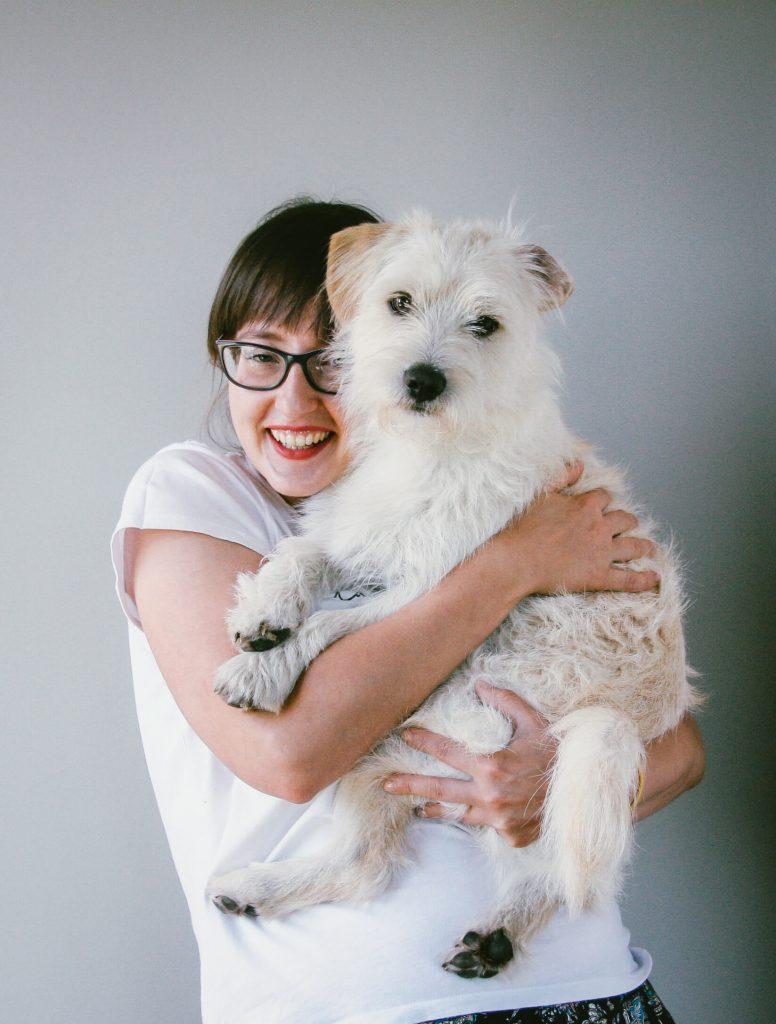 dietetyk Aleksandra Laskowska z psem Taco